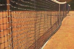 Net for tennis Stock Image