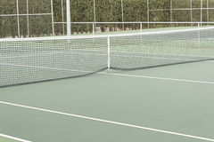 Net and tennis court Royalty Free Stock Photo