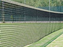 Net tennis field closeup. Net tennis field close up Royalty Free Stock Photography