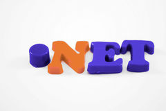 .NET in Text Stock Photos