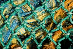 Net van de visserij 3 stock afbeelding