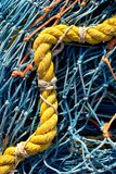 Net van de visserij 4 Stock Foto