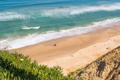 Netanya beach Israel stock images
