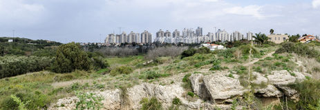 Netanya and Poleg Nature reserve stock images