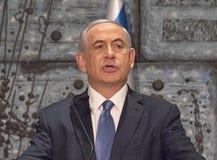 netanyahu Benjamin Στοκ Φωτογραφία