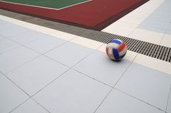 Netball and angles Stock Photo