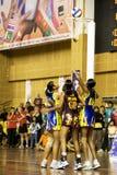 netball asiatique de championnat de 7ème action Images libres de droits