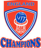 Netball champions England Stock Photography