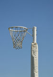 Netball Goal Post and Ring Royalty Free Stock Photos