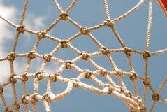Netball net and hoop Stock Image
