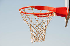 Netball net and hoop Stock Images
