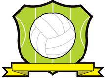 Netball Shield. With competition ribbon Stock Photography