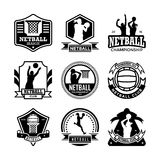 Netball Vector Icons 24 Stock Photo