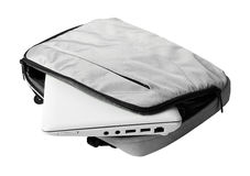 Netbook in bag Royalty Free Stock Image