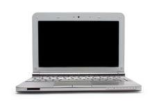 Netbook con il monitor nero Immagine Stock