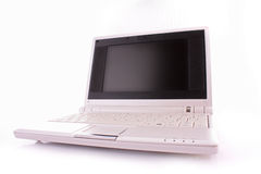 Netbook isolated Royalty Free Stock Images