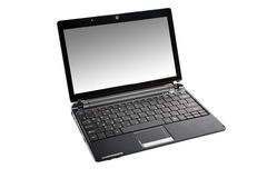 Netbook isolated. Stock Photography