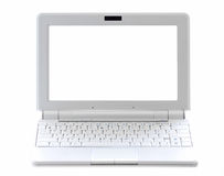 Netbook isolou-se Imagem de Stock Royalty Free
