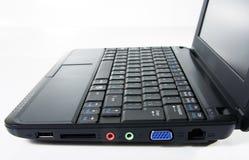 Netbook preto Fotos de Stock