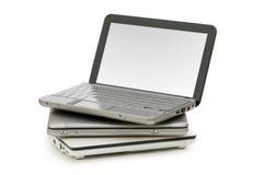 Netbooks aisló Foto de archivo libre de regalías