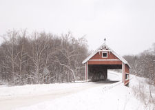 Netcher Road Covered Bridge Royalty Free Stock Photography