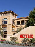 Netflix总部设, Los Gatos,加利福尼亚美国 图库摄影