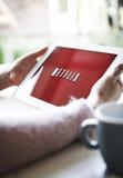 Netflix Imágenes de archivo libres de regalías
