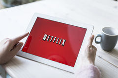 Netflix royalty free stock images