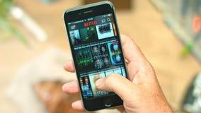 Netflix App en iPhone de la manzana almacen de video