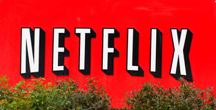 Netflix Facility in Silicon Valley Stock Image