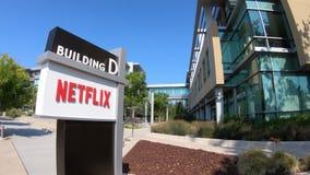 Netflix Logo California vídeos de arquivo