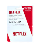 Netflix popular giftcard stock images