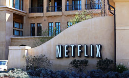 Netflix World Headquarters Royalty Free Stock Image
