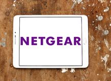 Netgear computer networking company logo royalty free stock photo