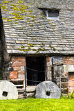 Nether Alderley Mill is a 16th-century watermill Royalty Free Stock Photography