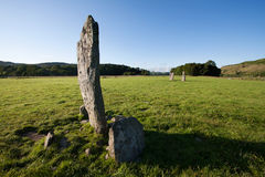 Nether Largie Standing Stones, Kilmartin Glen, Scotland Stock Photo