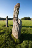 Nether Largie Standing Stones, Kilmartin Glen, Scotland Royalty Free Stock Photography