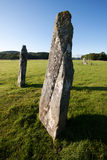 Nether Largie Standing Stones, Kilmartin Glen, Scotland Stock Photos