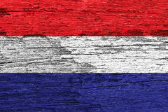Netherland flag Royalty Free Stock Photo