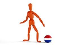Netherland fotboll Royaltyfri Bild