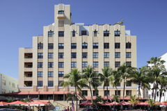 The Netherland Hotel Ocean Drive Royalty Free Stock Photo