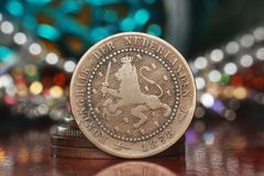 Netherland old coin Royalty Free Stock Photos