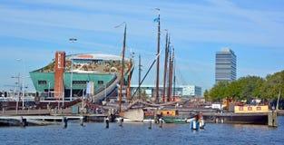 netherlands Κέντρο επιστήμης Στοκ Εικόνες