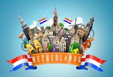 netherlands fotografie stock