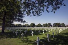 Netherlands American Cemetery Stock Photos