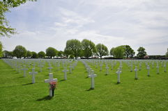 Netherlands American Cemetery Margraten Royalty Free Stock Image