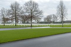 Netherlands American Cemetery and Memorial Margraten Royalty Free Stock Images