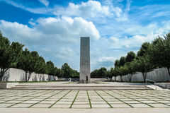 Netherlands American Cemetery and Memorial Royalty Free Stock Photos