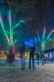 The Netherlands - Amsterdam - Amsterdam Light Festival 2016-2017 Stock Photos