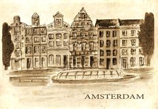 Netherlands. Amsterdam. Royalty Free Stock Photos